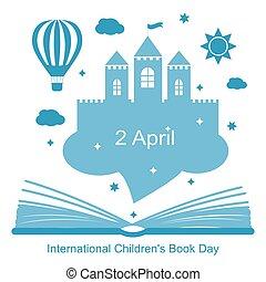 international, livre, childrens, jour