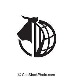 International Meat trade sign