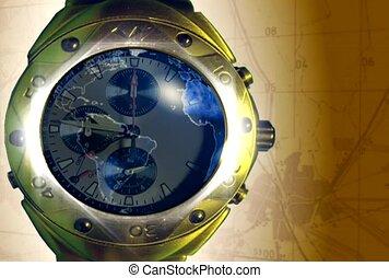 international, montre