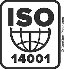 International Organization for Standardization 14001 symbol