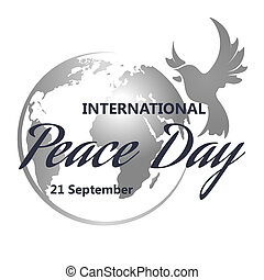 international, paix, jour