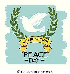 International peace day design