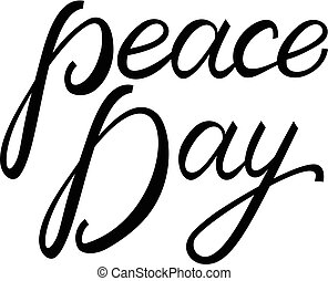 International Peace Day poster.