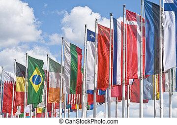 international, réunion