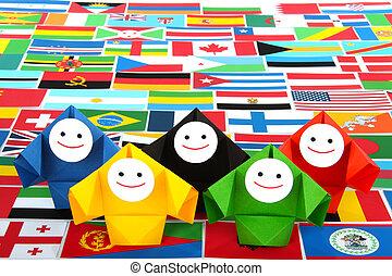 International relations metaphor