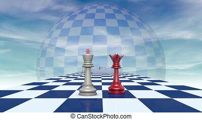 International relationships. Chess - This metaphor...