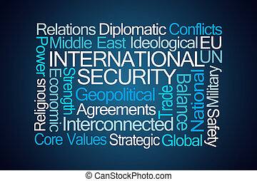 International Security Word Cloud