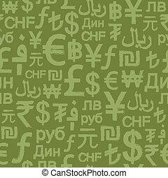international, sesmless, grunge, argent