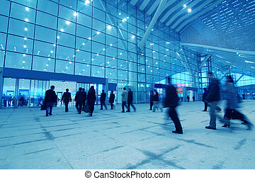 international - inside the international airport in China