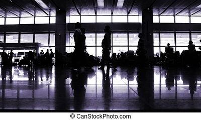 International terminal hall