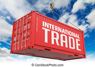 International Trade on Red Container. - International Trade...