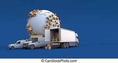 international, transport
