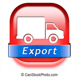 internationale, eksporter, handel