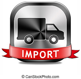 internationale, import, handel