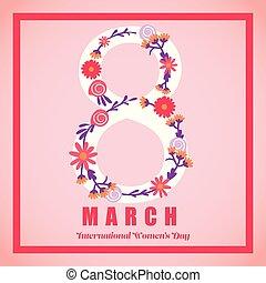 internationale, kvinder, dag