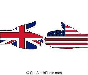 internationell, handslag