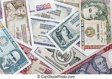 internationell, pengar