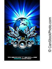 internazionale, aviatore, musica, evento, discoteca