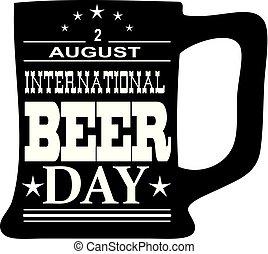 internazionale, birra, giorno