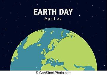 internazionale, giorno terra, aprile, 22