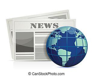 internazionale, illustrazione, notizie