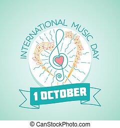 internazionale, musica, giorno, 1, ottobre