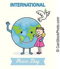 internazionale, pace, giorno