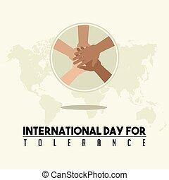 internazionale, tolleranza, giorno