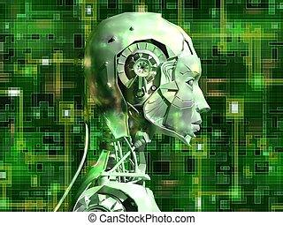 interne, androïde, technologie, révèle