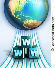 internet aansluiting