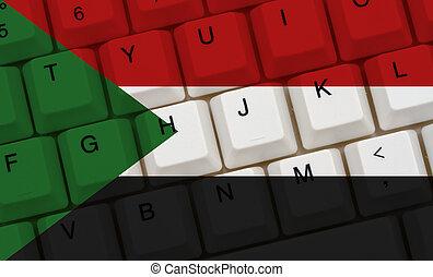 Internet access in Sudan