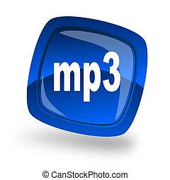 internet, archivo mp3, icono