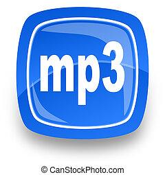 internet, arquivo mp3, ícone