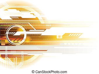 Internet background, vector illustration with layers file.