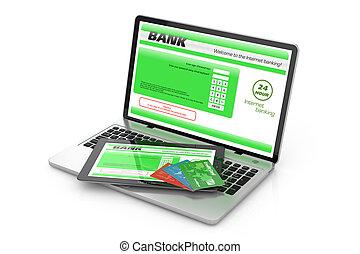 Internet banking service.