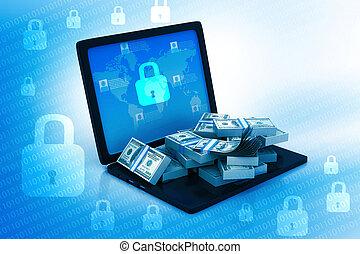 internet bankrörelse, säkerhet