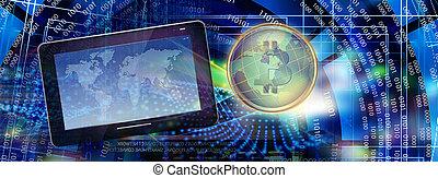 Internet bitcoin technology