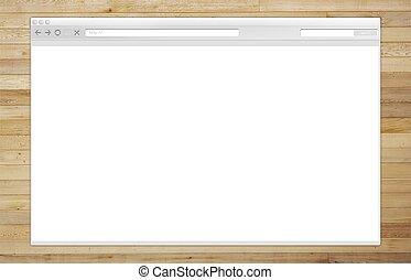 Internet Browser Window