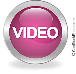 """Internet button labeled """"VIDEO"""""""