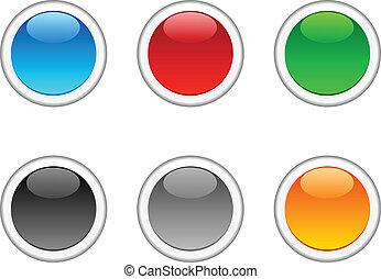 Internet buttons.