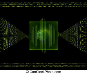 binary code data flow
