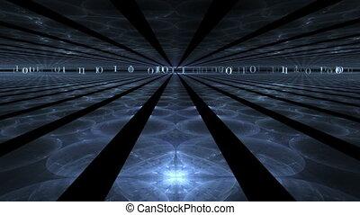 Internet Concept, Blue Rays