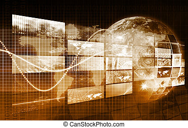 Internet Concept of the World Wide Web or WWW