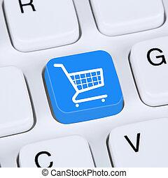 Internet concept online shopping order e-commerce internet shop