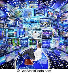 internet, concept