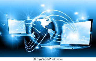 internet, concepto