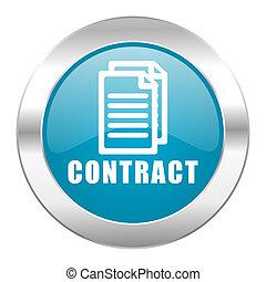 internet, contrato, icono