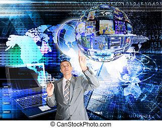 internet., e-affaires