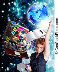 internet, educação