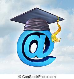 internet, education